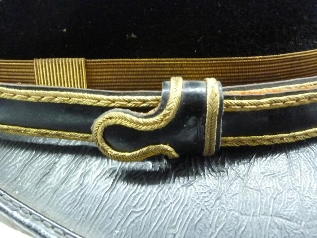 Képi foulard modèle 1886 de capitaine du 123 RI. 0621