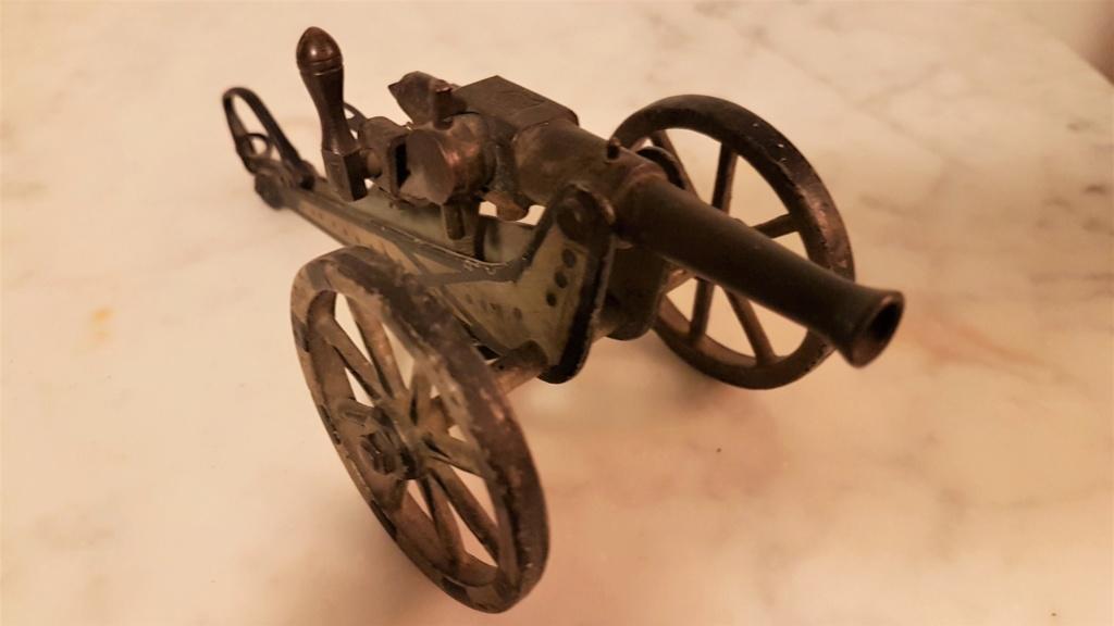 jouet ancien, canon de campagne 0716