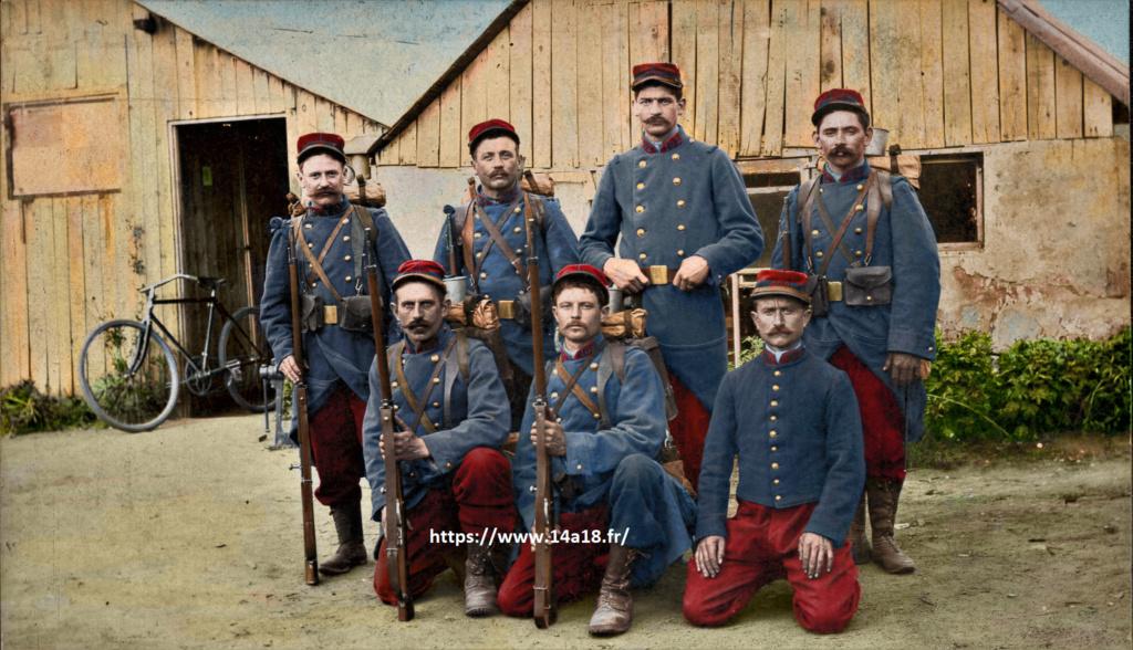 Une photo de quelques soldats du 102ème régiment d'infanterie 102_em12