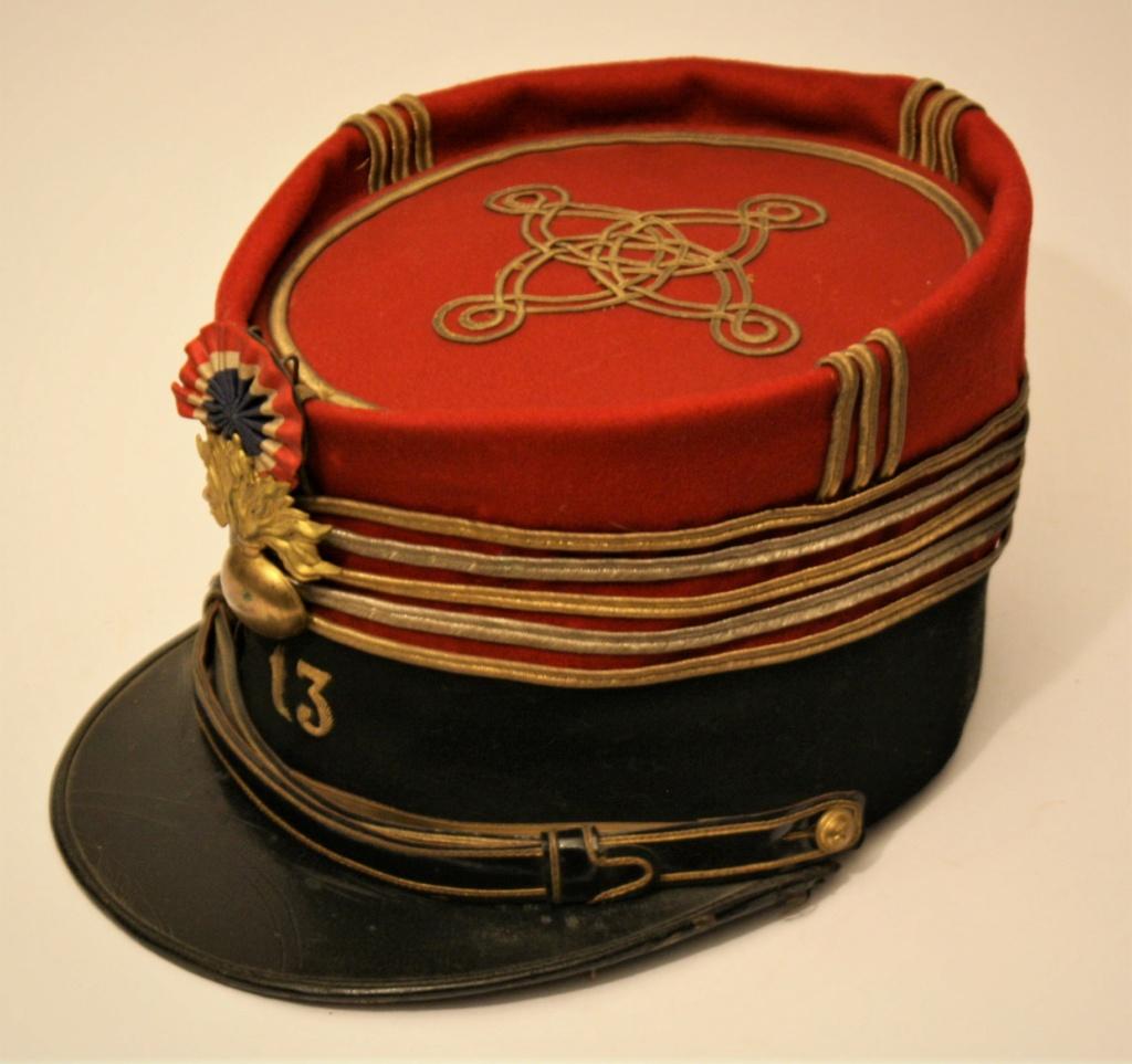 Képi foulard modèle 1886 de capitaine du 123 RI. Kzopi_13