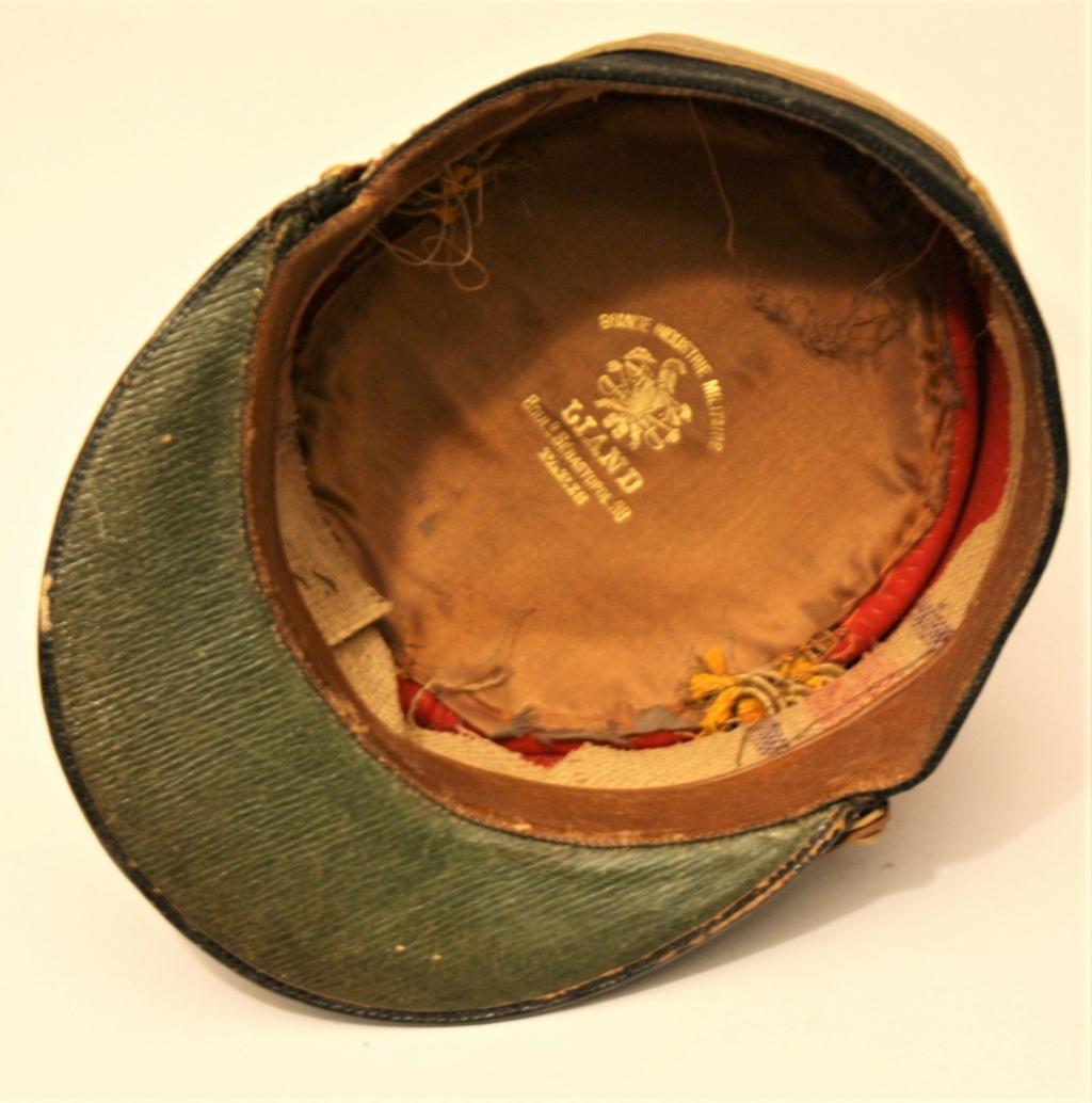 Képi foulard modèle 1886 de capitaine du 123 RI. Kzopi_15