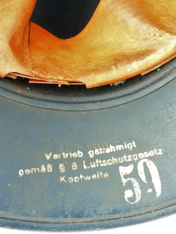 Casque LUFTSCHUTZ M38 P1270530