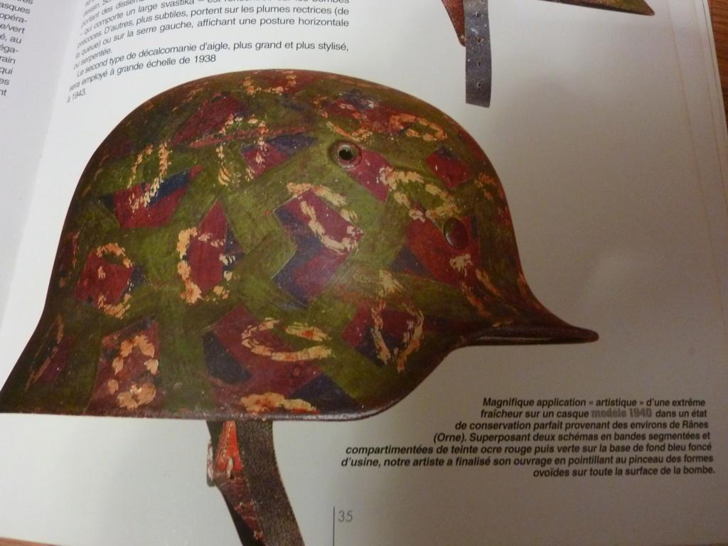 """Mon casque """"coloré"""" de la LUFTWAFFE P1270611"""