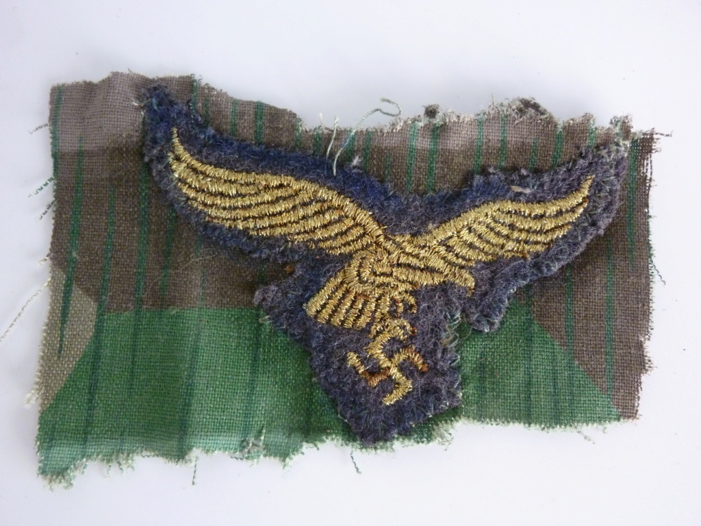 Aigle de la Lufwafe sur tissus, bon ou pas ? P1280611