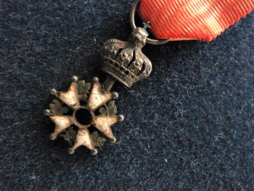 Légion d'honneur sans pastilles centrale.  P1300720