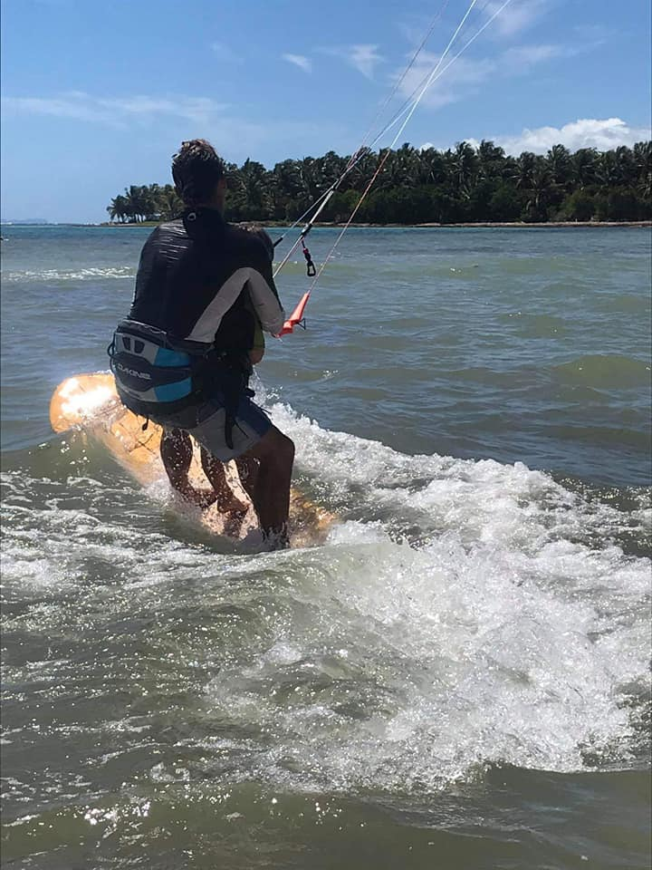 Après la Guyane, démarrage du Tandem Handi Kite en Guadeloupe H310
