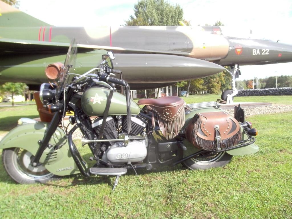 [vendu]PETITES ANNONCES - Vends Drifter 800 relooké Indian Bomber, avec selle solo et duo. Drifte12