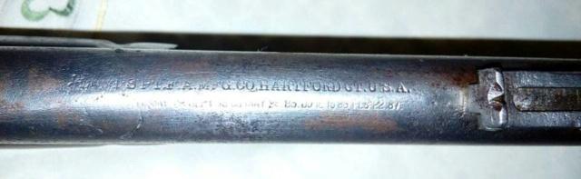 Colt Lightning cal .44 carabine western et de la police de San Francisco 36598310