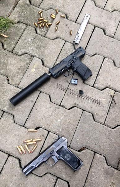 Quel est ce pistolet silencieux très moderne? Pistol10