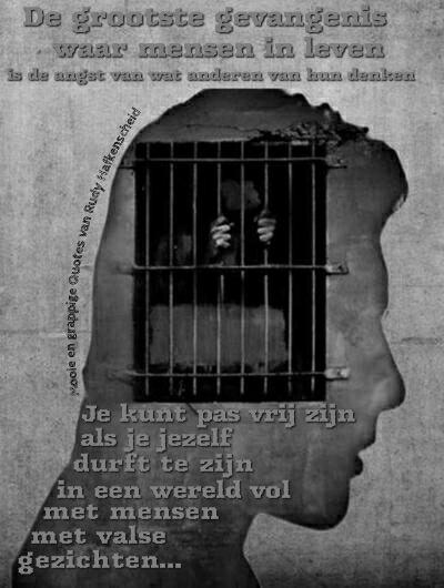 Kiest U op 17 maart voor Slavernij of de Vrijheid? Er is maar een politieke partij die ons kan redden! Gevang10