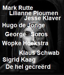 Als je het Nederlandse politieke spectrum nu aanschouwt lijkt de toekomst voor de Nederlandse bevolking gitzwart. Kaag13