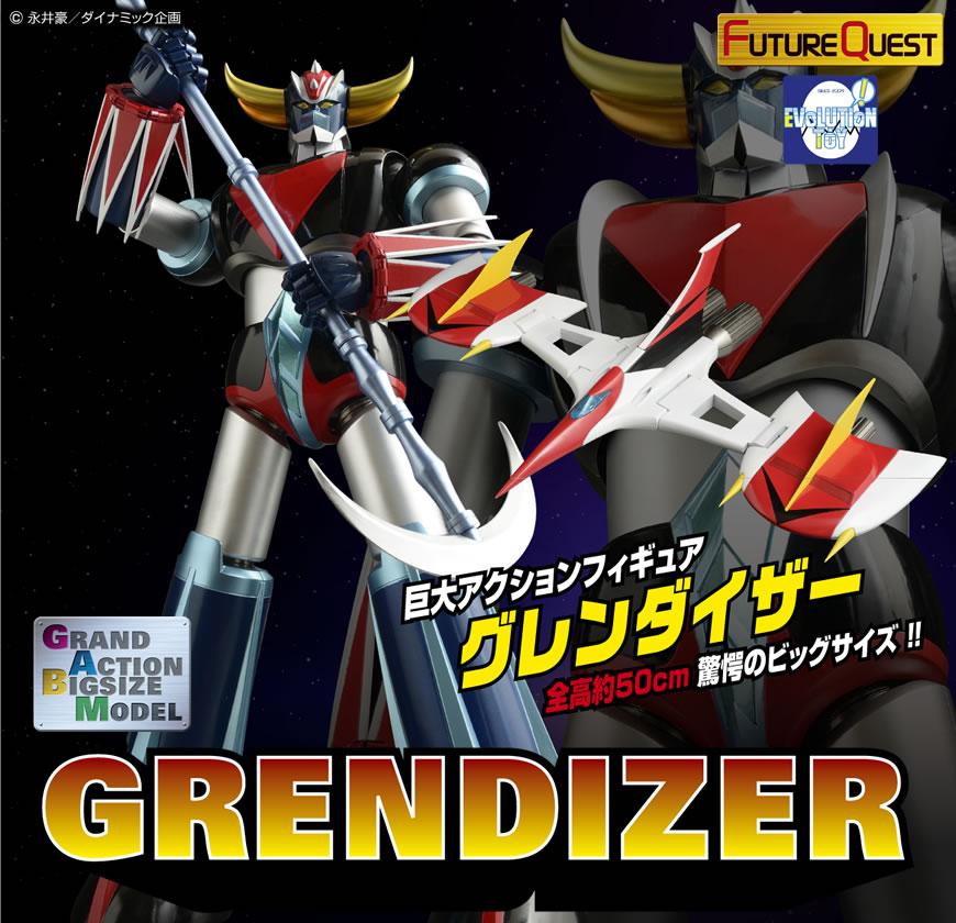 GRAND ACTION BIGSIZE GRENDIZER  EVOLUTION TOY  Gren0110