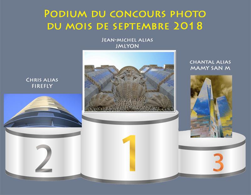 """Concours photo du mois de septembre 2018 - Thème """"Architecture en contre plongée"""" (terminé) Podium12"""