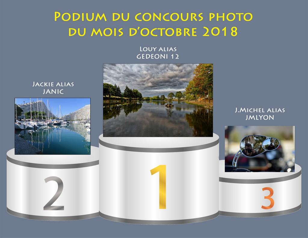 """Concours photo du mois d'octobre 2018 - Thème : """"Reflets"""" (terminé) Podium13"""
