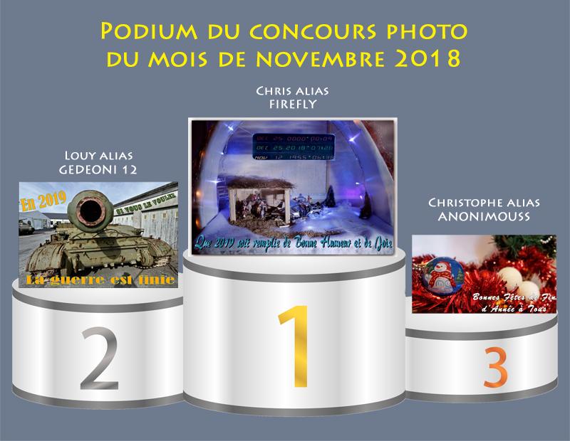 """Concours photo du mois de décembre 2018 - Thème : """"Un message de bonne et heureuse année"""" (terminé) Podium15"""