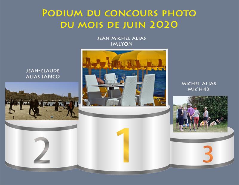 """Concours photo du mois de juin 2020 - Thème : """" Déconfinement """" (terminé) Podium33"""