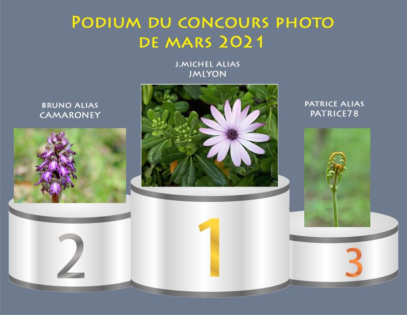 """Concours photo du mois de mars 2021 - Thème : """"Les signes du printemps"""" (terminé) Podium41"""
