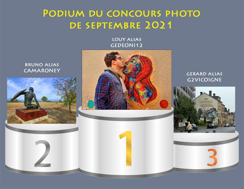 """Concours photo du mois de septembre 2021 - Thème """"Arts urbains"""" (terminé) Podium46"""