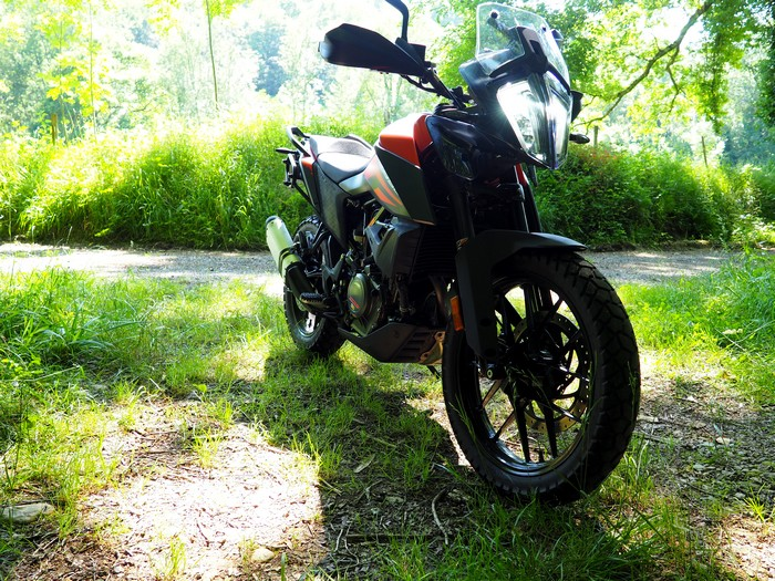 Petit essai de la KTM 390 Adventure P5270610