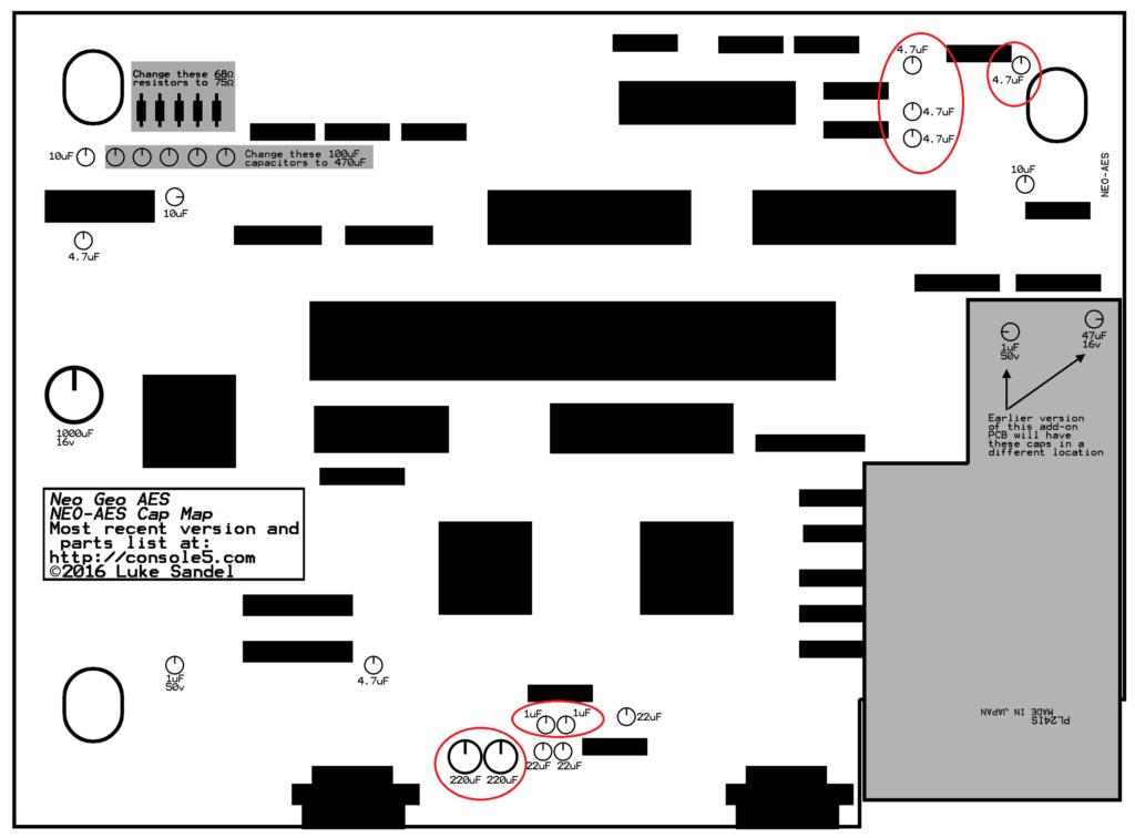 """[TUTO] choisir ses condensateurs pour une """"recap"""" de PCB arcade - Page 5 Neo-ae10"""