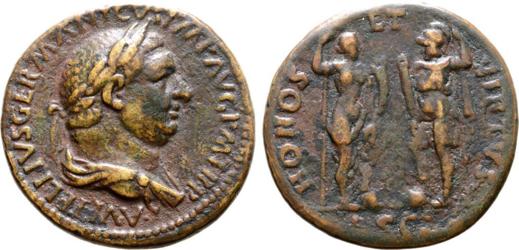 Vitellius Sesterce HONOS Vitell11