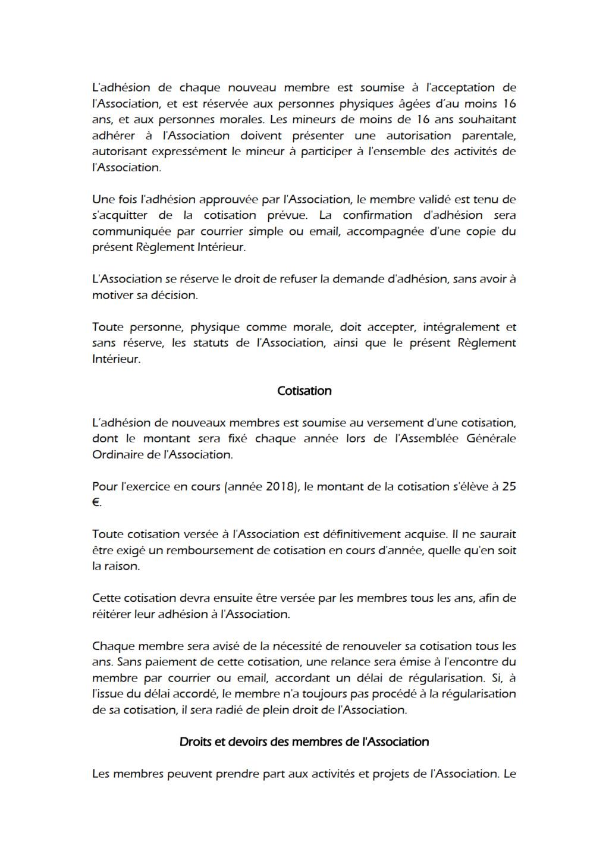 Règlement Intérieur Reglem12