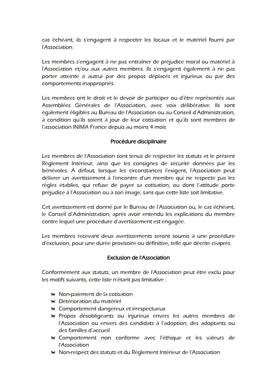 Règlement Intérieur Reglem16