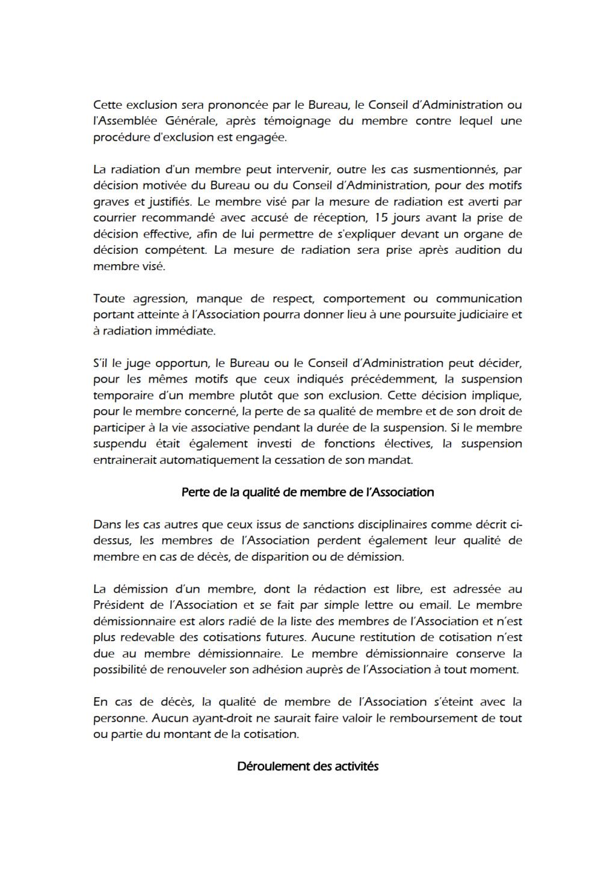Règlement Intérieur Reglem18