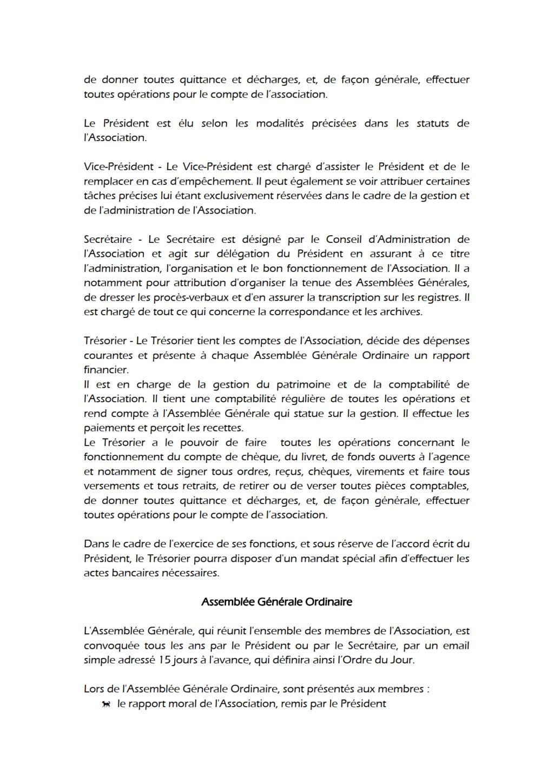 Règlement Intérieur Reglem19