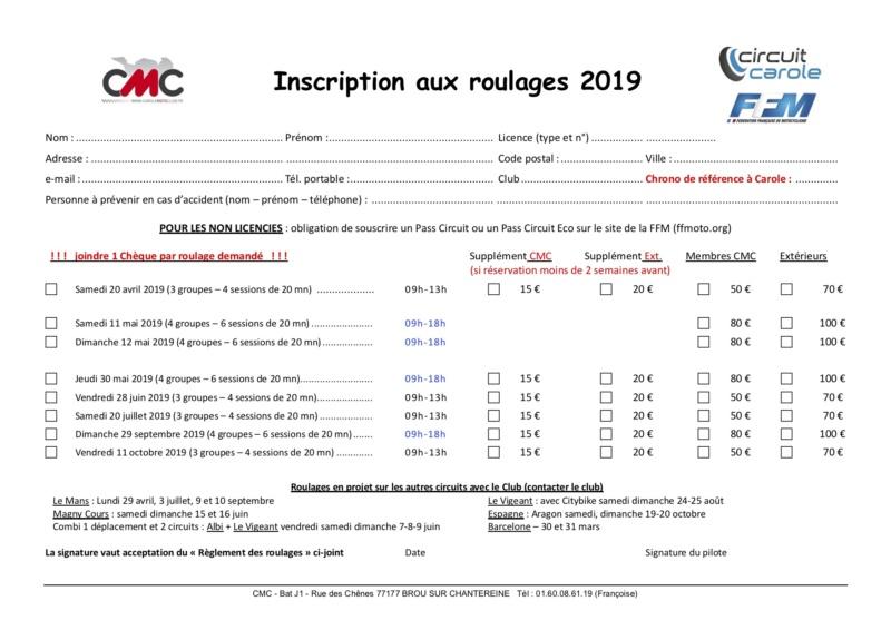 WE Roulages - CAROLE MOTO CLUB - 11/12 MAI 2019 Cmc19_10