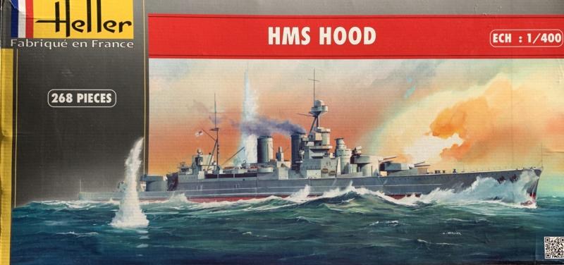 Cuirassé HMS HOOD 1941 1/400ème Réf 81081 Img_3332