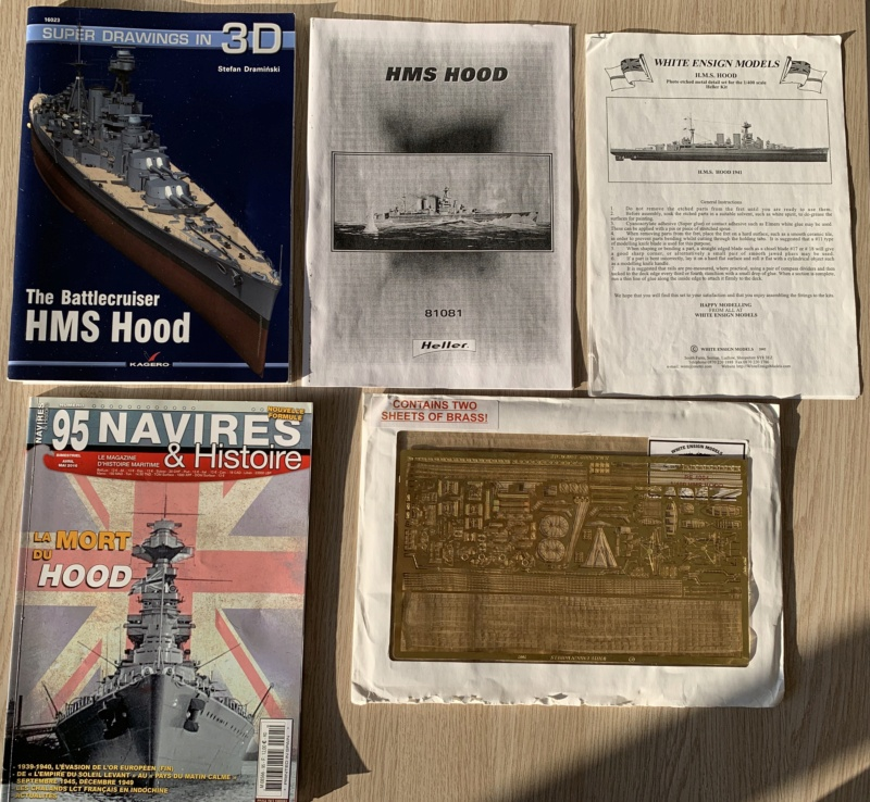Cuirassé HMS HOOD 1941 1/400ème Réf 81081 Img_3337