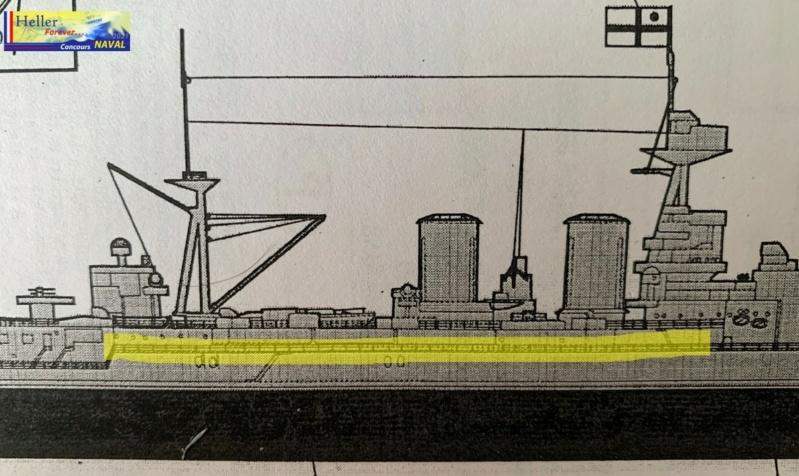 Cuirassé HMS HOOD 1941 1/400ème Réf 81081 Img_3441