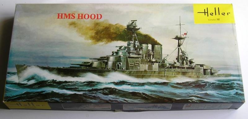 Cuirassé HMS HOOD 1941 1/400ème Réf 81081 Pb050110