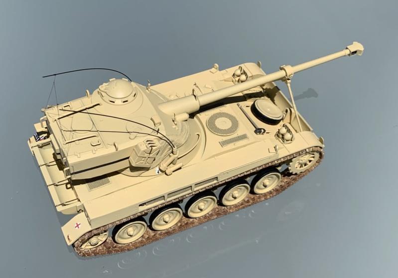 AMX 13 canon de 75 Opération Mousquetaire 1956 Réf 81122 Photo_68
