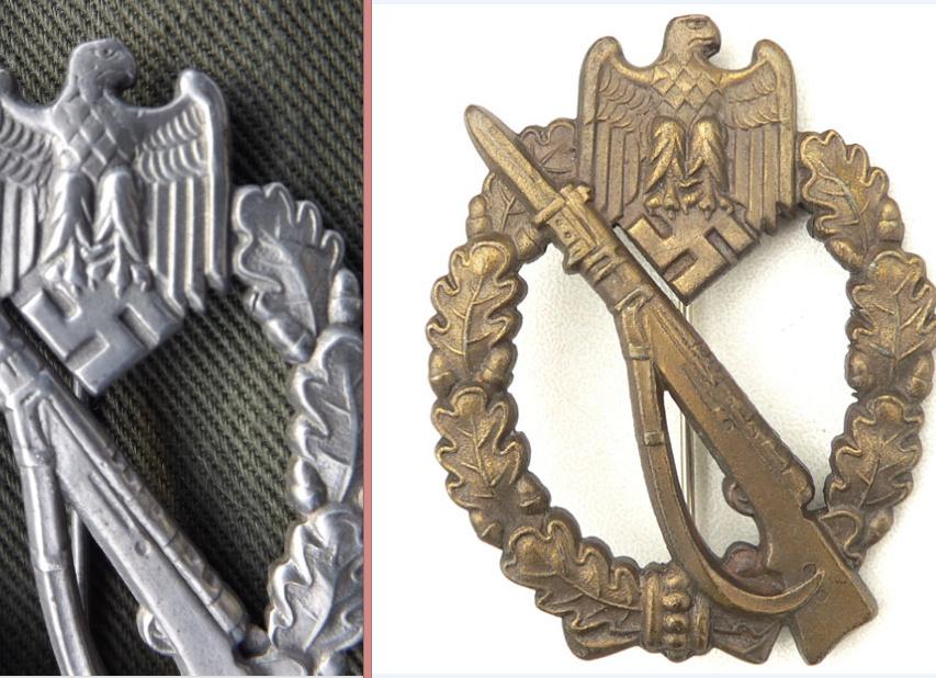 Badge Infanterie JFS Compar10