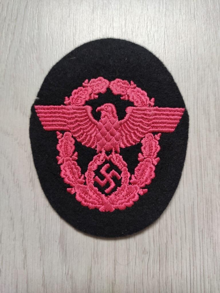 Insigne tissu allemand WW2 à identifier et estimer Img_2055
