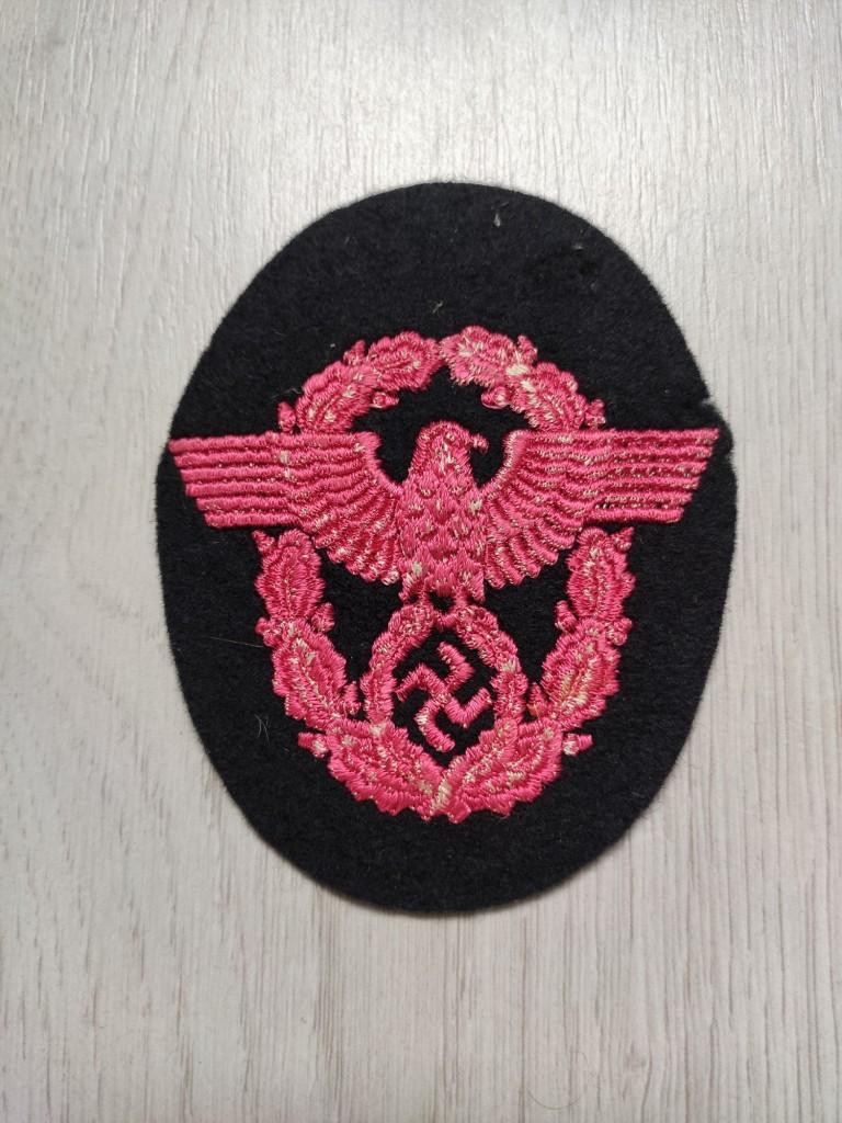 Insigne tissu allemand WW2 à identifier et estimer Img_2056