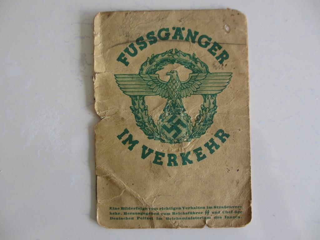 livre allemand d'instruction officiel sur les premiers secours 1941 Img_3210
