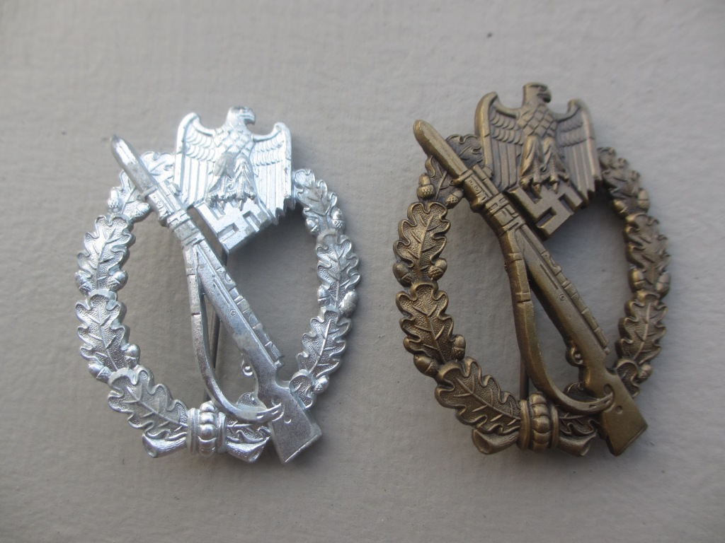 Insigne d'Assaut d'Infanterie Argent  Img_5110