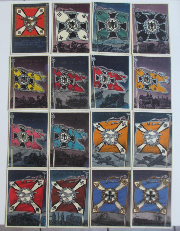 Cartes postales sur les drapeaux militaires allemands Img_6917