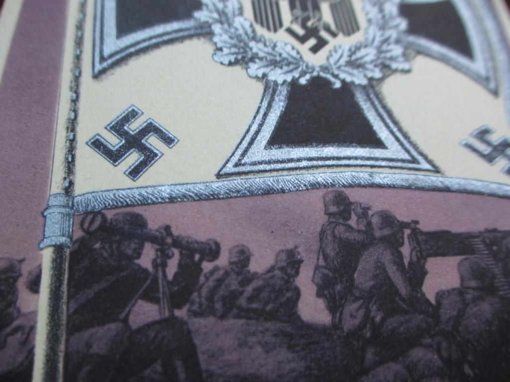 Cartes postales sur les drapeaux militaires allemands Img_6918