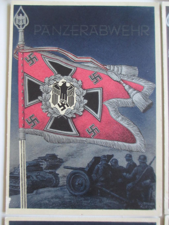 Cartes postales sur les drapeaux militaires allemands Img_6919