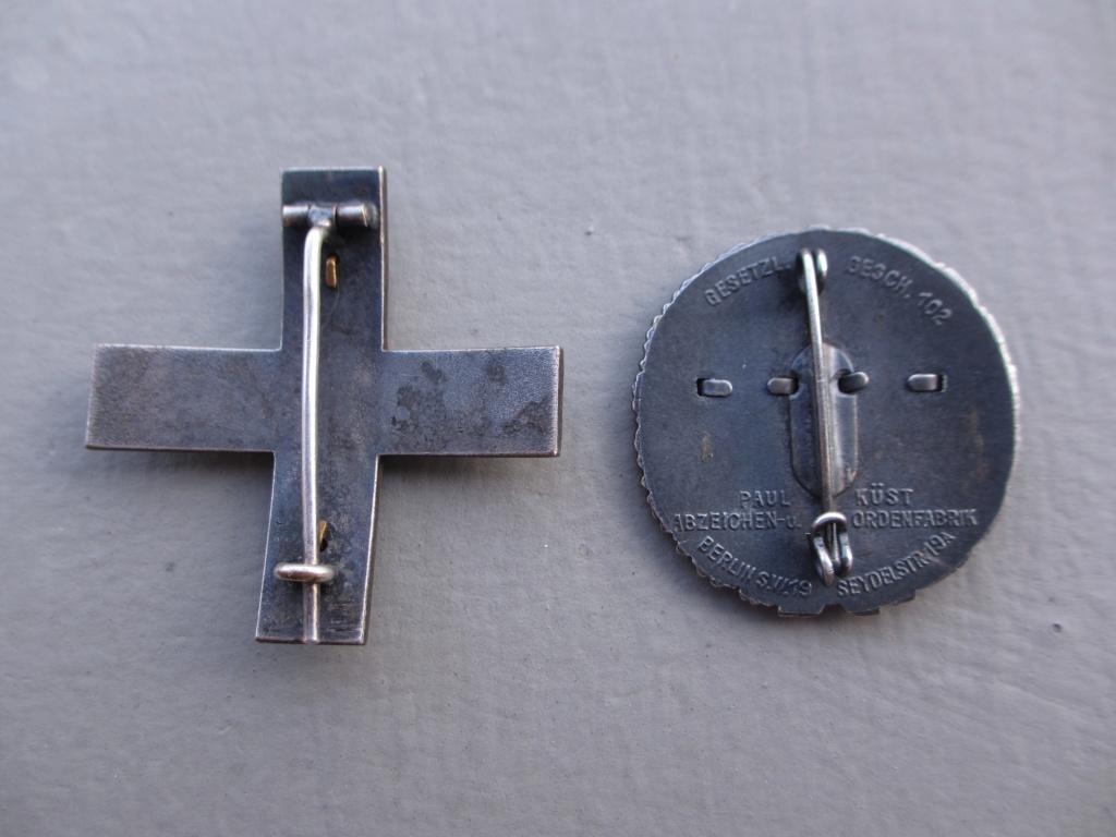 2 badges freikorps Img_6936