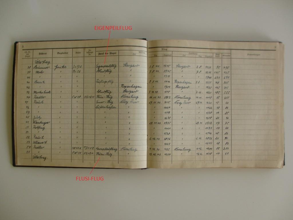 Groupe de documents d'un tireur de bord sur Me 110 Img_7018