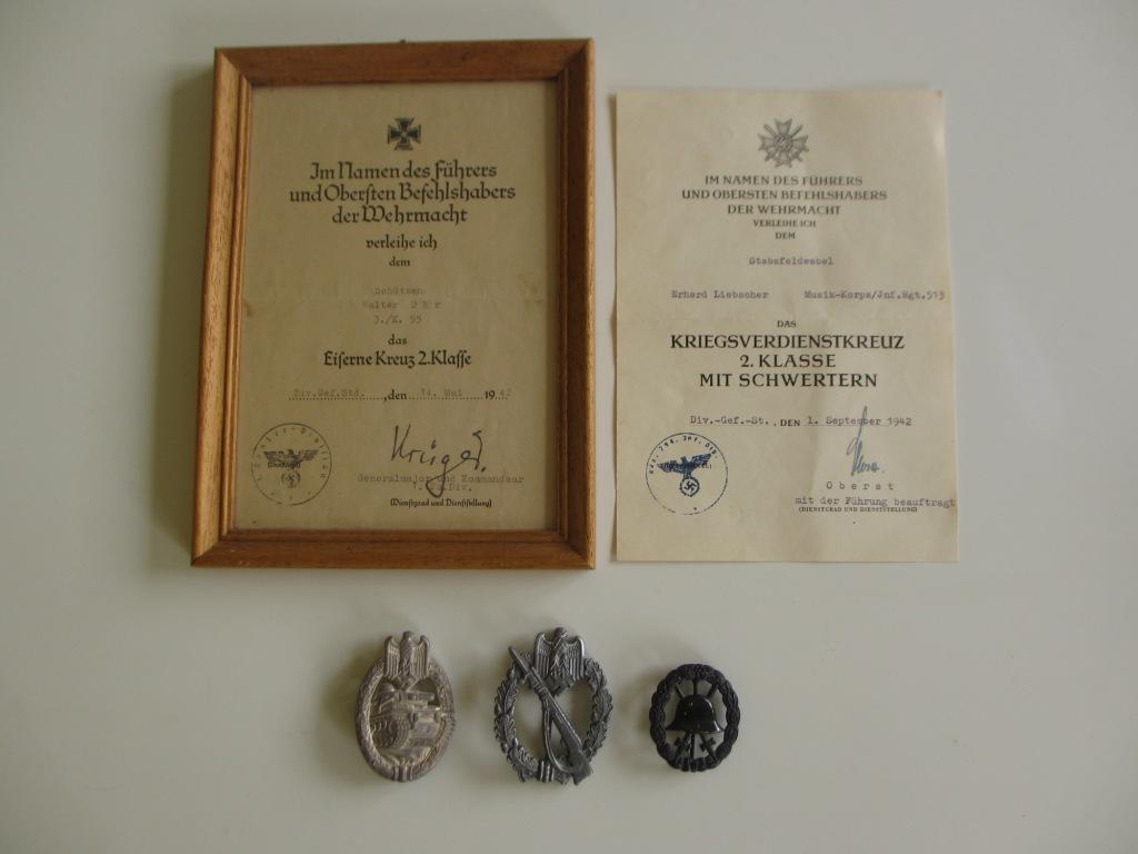 Trouvailles de Ciney, badges et diplômes allemands Img_7077
