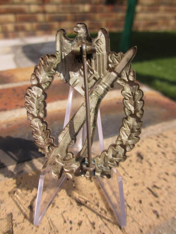 1er badge d'infanterie en tombac Img_7237