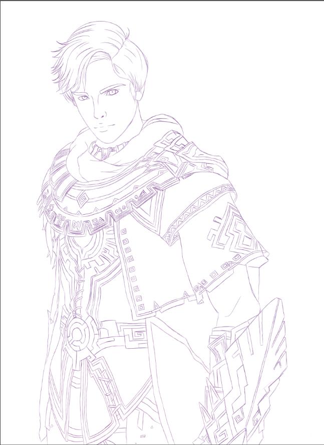 Ily versucht Zeichnungen zu beenden - Commiecke Ryo10