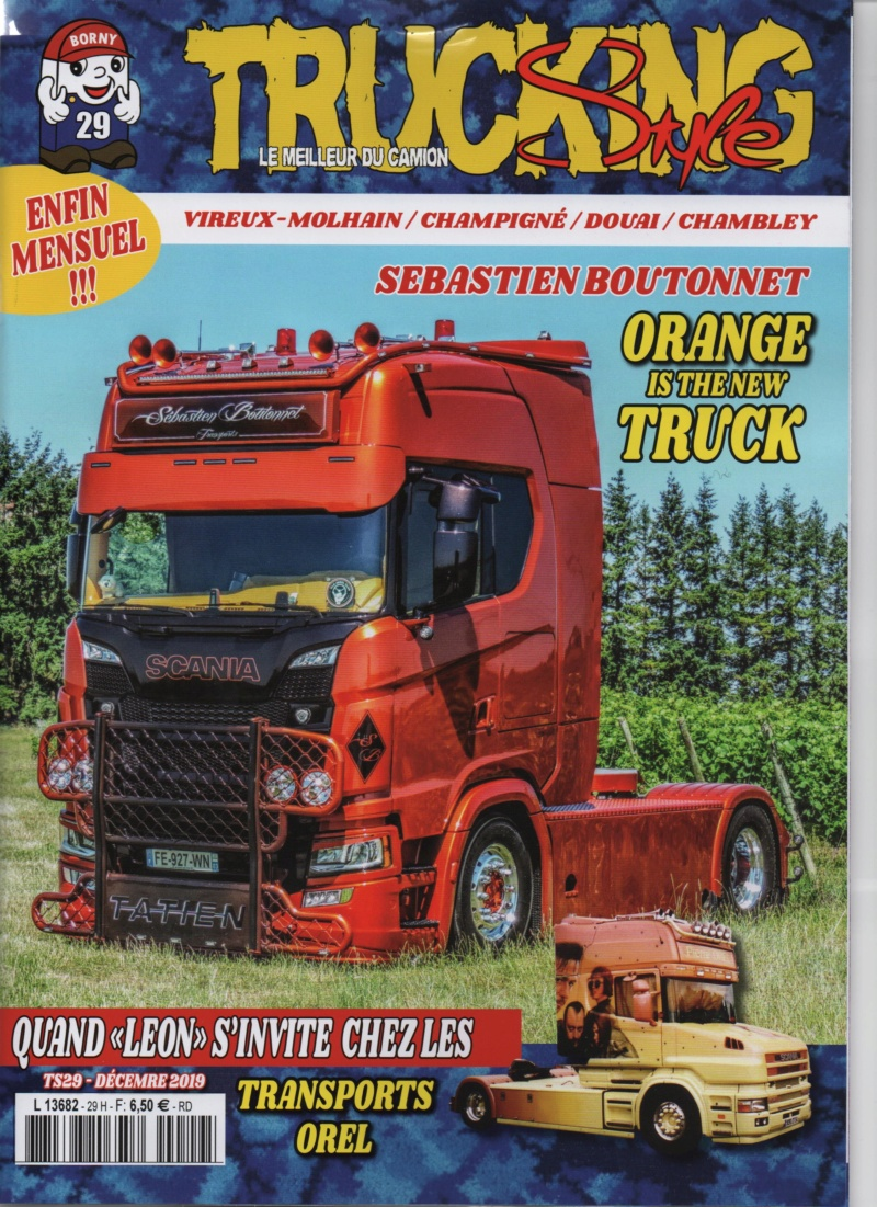 Trucking Style n°29 décembre 2019 Trucki18