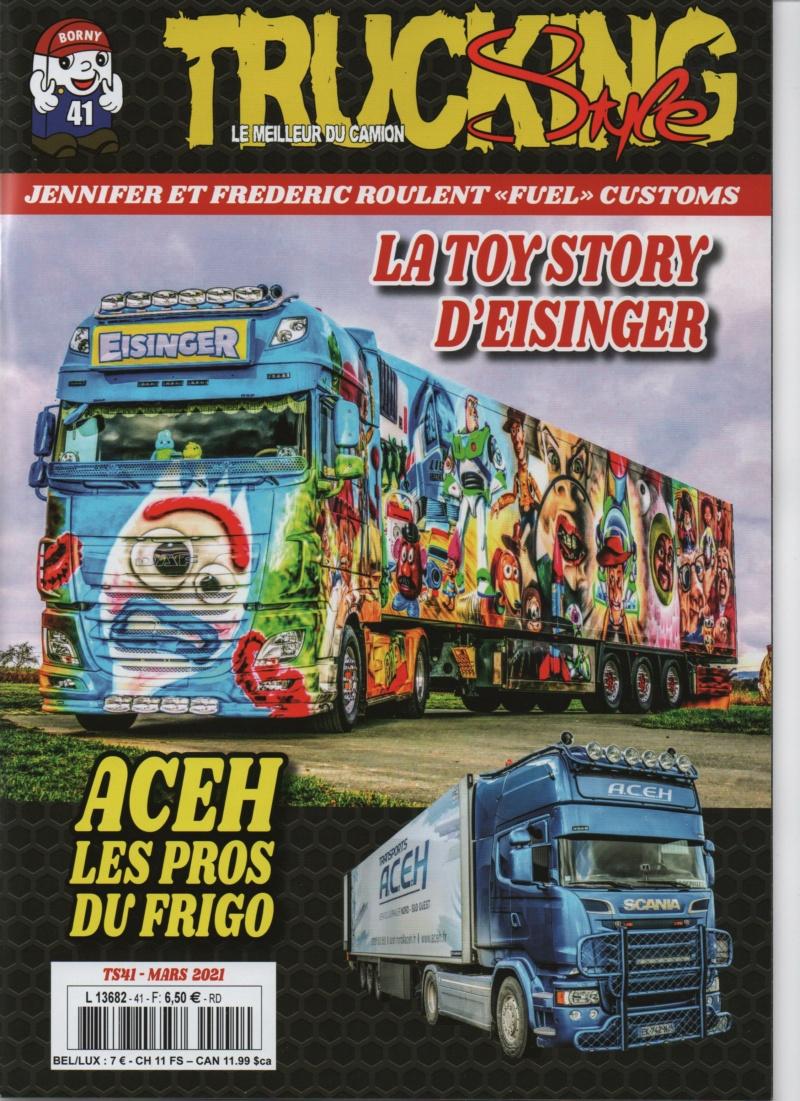 Trucking Style n°41 mars 2021 Trucki55